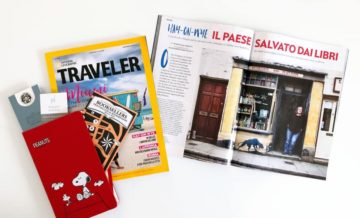 Su National Geographic Traveler (Inverno 2018/19): Hay-on-Wye, il paese salvato dai libri