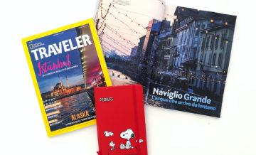 Su National Geographic Traveler (Primavera 2019): Naviglio Grande, l'acqua che arriva da lontano
